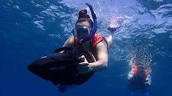 Scooter Snorkeling Antigua Tour