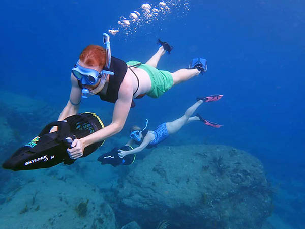 Scooter Snorkeling in Antigua | Best Antigua Snorkeling Tour