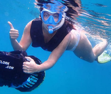 Scooter Snorkeling in Antigua   Best Antigua Snorkeling Tour
